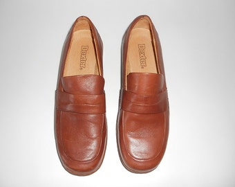 Leather Loafers, Dexter, 7 M Women, Vintage, NOS