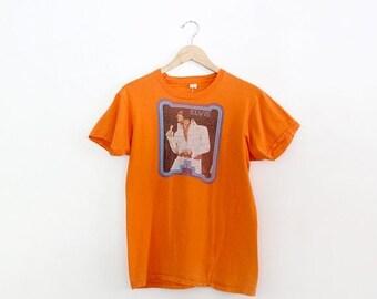 SALE 1970s Elvis Presely t-shirt, vintage iron on tee