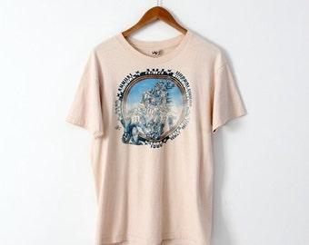 SALE 1980s AMA t-shirt, motorcycle tee, motocross shirt