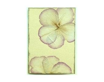 Rose petal Collage Card - Blank 5x7 (RP57-010)