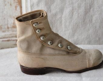 Vintage Victorian shoe
