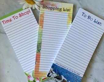 Set of Three Notepads
