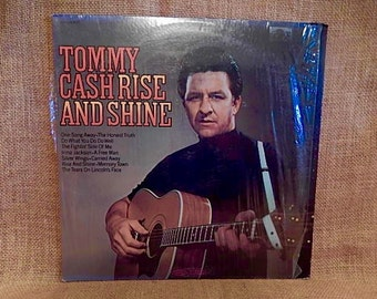 TOMMY CASH - Rise and Shine - 1969 Vintage Vinyl Record Album