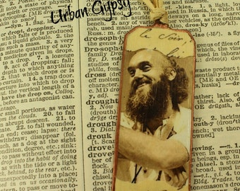 Baba Ram Dass Be Here How Author Bookmark Gift Under 20 Unique Bookmark Handmade Bookmark Indiannapolis Shop