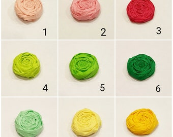 Paper Flower Roses - Sample Pack of 4 flowers - Chose up to 4 colors