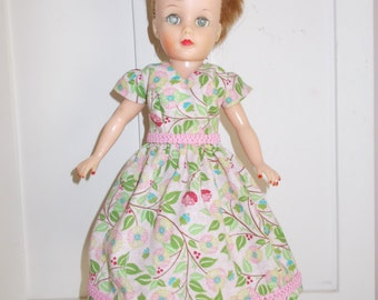 """OOAK doll clothes for 10 1/2"""" Little Miss Revlon type doll - """"Summer Pink"""""""