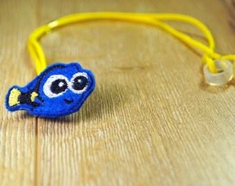 Blue Fish - Hearing Aid Cord or Cochlear Implant Cord