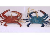 Crab Metal Art | Crab Wall Art | Metal Decoration | Ornaments | Christmas Ornament | Maryland Crab Wall Art | Maryland Crab Decoration