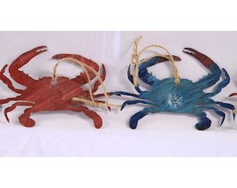 Crab Metal Art | Crab Wall Art | Metal Decoration | Ornaments | Christmas Ornament | Maryland Crab Wall Art | Maryland Crab Decoration