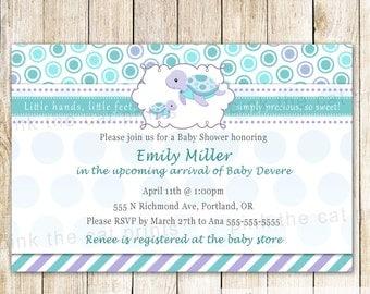 Boy shower invite | Etsy