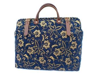 Carpet Bag, Weekender / Overnight / 'Carpet' Travel Bag