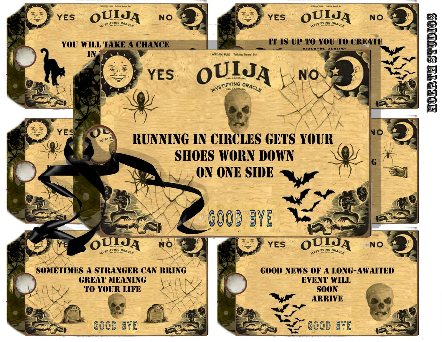 It's just a picture of Amazing Printable Ouija Board