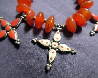 Vintage tribal moroccan necklace
