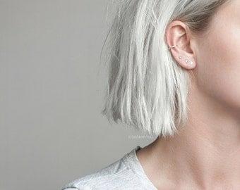 Minimal 4 piece earring set