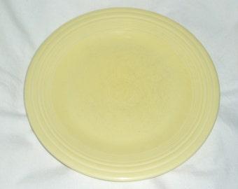 "Vintage Fiesta Dinner Plate, 10.5"", New Yellow"