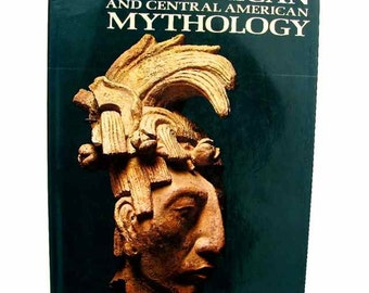 Mexican and Central American Mythology Irene Nicholson 1968 HBDJ