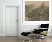 Large Art - Several Sizes Available,Neutral Modern Abstract Painting Print, Wall Art, Art Prints, Brown Acrylic Painting, Living Room Art