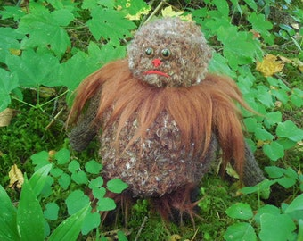 Sasquatch Toilet Tissue Cozy,Bigfoot Toilet Tissue Cozy