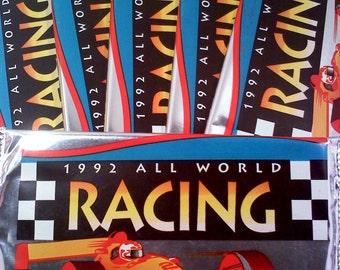 Car Racing Trading Cards