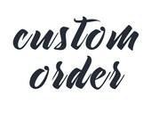 Custom Order for Leigh Ann