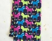 Horse Print Cotton Fabric