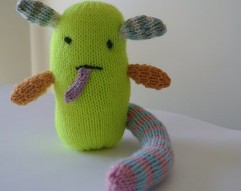 Knitted Mini Monster - Cute Kawaii Style!