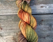 RESERVED LISTING Hand Dyed Yarn, Hand Painted Yarn, Worsted Weight Yarn