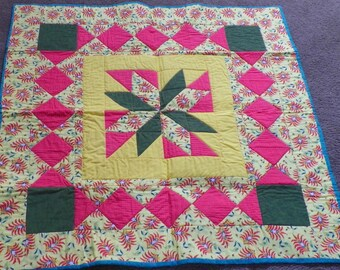 Quilted Chinese Table Topper