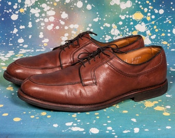 Brown Allen EDMONDS Men's Dress Shoe Size 12
