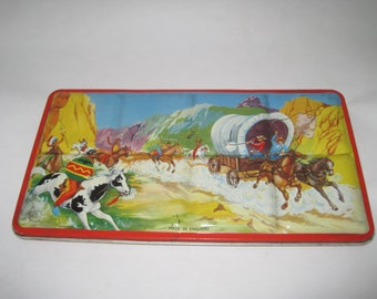 Vintage Tin Litho Paint Box