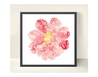 "Peonie - Print, 10"" x 10"" - Limited Edition of 20 Only"