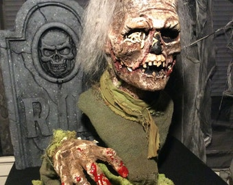 Burial Ground  aka Nights of Terror  zombie bust