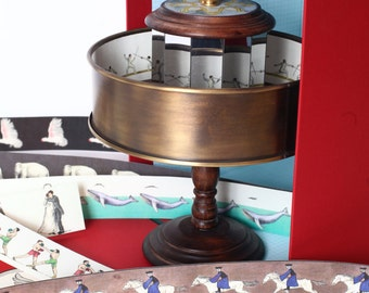 Big Praxinoscope - copper