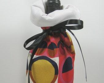 Bright Circles, Class Wrap Wine Gift Bag