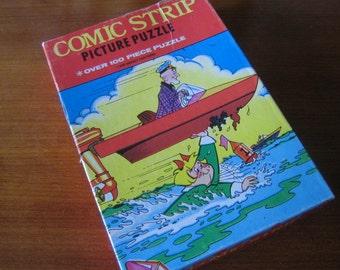1976 Harvey Cartoons Comic Strip Puzzle