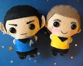 Spock and Captain Kirk Star Trek Into Darkness - Reserved listing