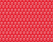 Ooh La La Riley Blake  Fabric Yardage, Ooh La La, C4864 CUTLERY RED