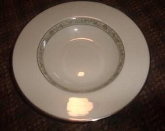 6 vintage lenox china springdale soup bowl usa platinum