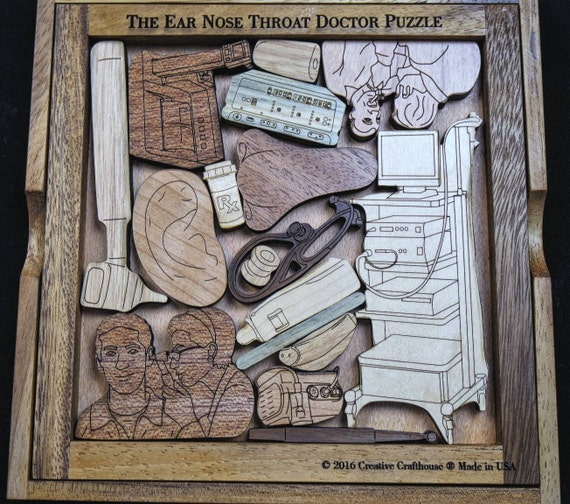 The Ear Nose Throat Ent Doctor Puzzle-7200