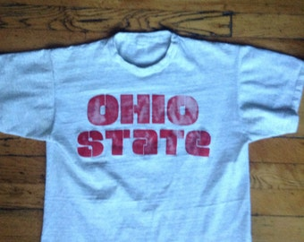 1980's Ohio State University Buckeyes t shirt