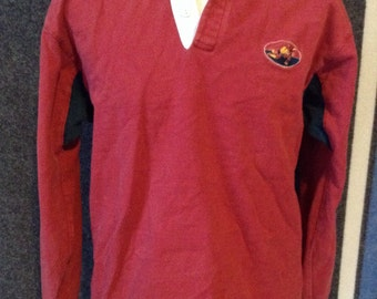 Vintage Land's End Rugby jersey shirt USA Large