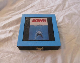 Jaws Classic Retro Horror Keepsake Stash Box