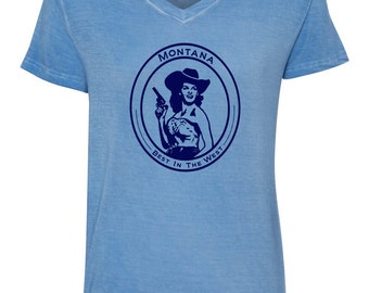 Montana Gal - Best in the West - Tee