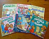 6 Berenstain Bears Children's Books Collection