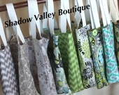 Bridesmaid Gift Bag - Reversible - Bridesmaid Gift Tote - Chevron Fabric