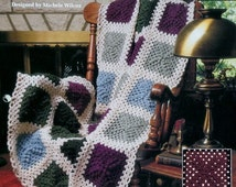 20%OFF The Needlecraft Shop TEXTURED TREASURES By Michele Wilcox - Crochet Afghan Collector's Series Pattern