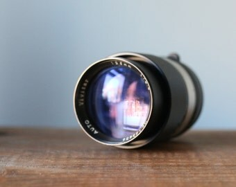 Vintage Vivitar Auto 135mm 2.8 Camera Lens