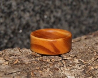 Wood Ring Size 9 1/2 - Olive Wood Ring