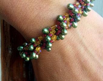 pdf - Spiral Garden Bracelet - (Spiral Rope Instructions)