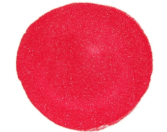 Ultrafine Coral SOLVENT RESISTANT Sparkle Glitter 0.008 Hex - 1 Fl. Ounce for Glitter Nail Art, Glitter Nail Polish and Glitter Crafts
